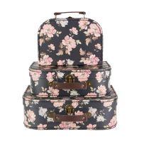 Set tří kufříků ve Franzouzkém stylu