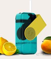 ASOBU univerzální dětský Drink Box 300ml, žlutý