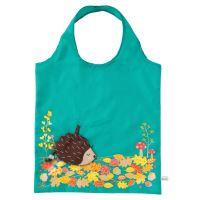 Skládací taška HEDGEHOG FOLDABLE  Sass & Belle, polyester - modrá/tyrkysová