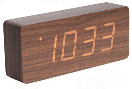 Designový LED budík - hodiny 5654DW Karlsson 21cm