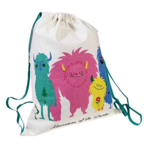 Bavlněná taška Rex London z kolekce MONSTERS OF THE WORLD