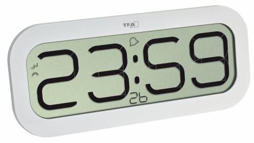 Rádiově řízené hodiny s melodií TFA 60.4514.02 BimBam bílé