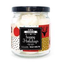 Dárkové balení 18ks vonných vosků ve skle Happy Holidays 126g