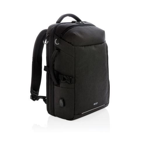 Chytrý cestovní batoh, Swiss Peak, černý