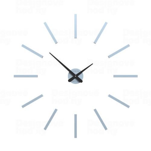 Designové hodiny 10-302 CalleaDesign (více barev) Barva stříbrná - 2