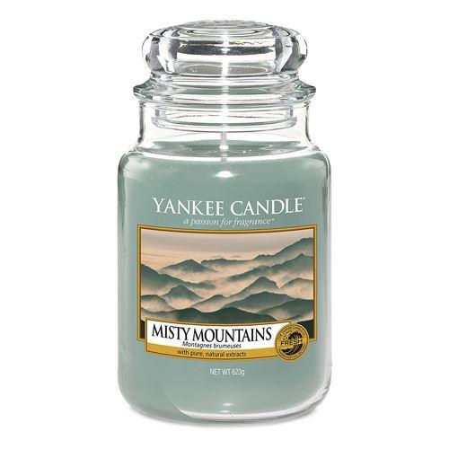 Svíčka ve skleněné dóze Yankee Candle Mlžné hory, 623 g