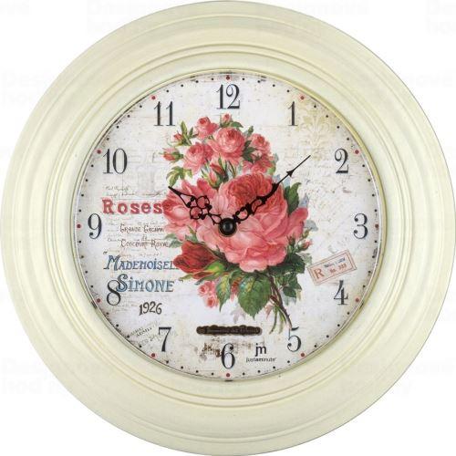 Designové nástěnné hodiny 21488 Lowell 31cm