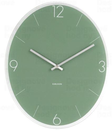 Designové nástěnné hodiny 5650GR Karlsson 39cm