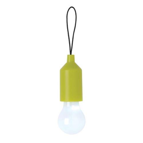 Závěsné LED světlo na klíče, Loooqs, zelené