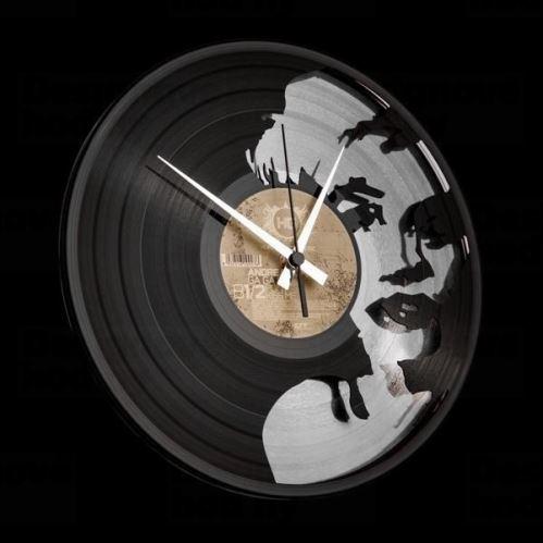 Designové nástěnné hodiny Discoclock 051 Marylin Silver 30cm