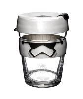 Designový cestovní skleněný hrnek s motivy Star Wars Stormtrooper Brew Medium 340 ml