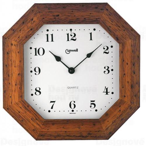 Designové nástěnné hodiny Lowell 01748NA Clocks 29cm