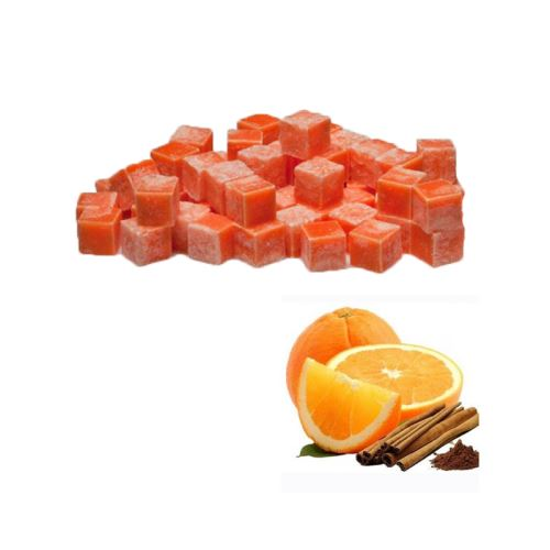 Vonnný vosk do aromalamp - orange & cinnamon (pomeranč a skočice), 8ks vonných kostiček
