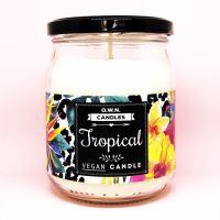 O.W.N. CANDLES vonná svíčka ve skle - Tropical