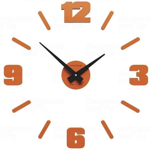 Designové hodiny 10-304 CalleaDesign Michelangelo S 50cm (více barevných verzí) Barva žlutý meloun - 62