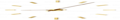 Designové nástěnné hodiny Nomon Tacon 12N Gold 100cm