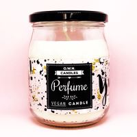 Vonná svíčka ve skle Perfume 400g