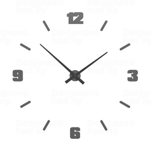 Designové hodiny 10-306 CalleaDesign Michelangelo L 100cm (více barevných verzí) Barva terracotta - 24