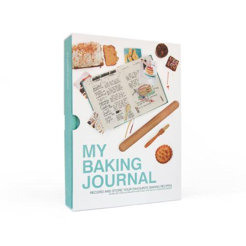 Kniha pečících receptů My Baking Journal