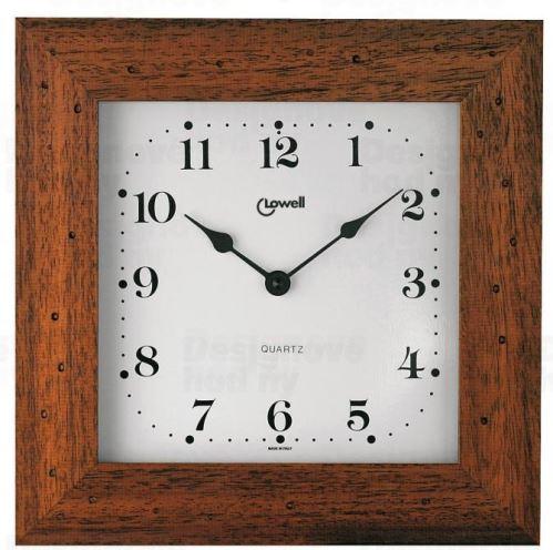 Designové nástěnné hodiny Lowell 01744NA Clocks 29cm