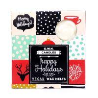 Dárkové balení 4ks vonných vosků Happy holidays 28g