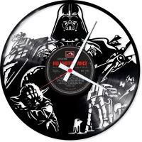 Nástěnné vinylové hodiny Starwars #2