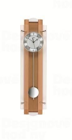 Kyvadlové nástěnné hodiny 5259/18 AMS řízené rádiovým signálem 66cm