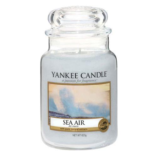 Svíčka ve skleněné dóze Yankee Candle Mořský vzduch, 623 g