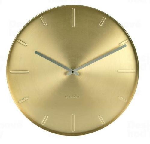 Designové nástěnné hodiny KA5594GD Karlsson 40cm