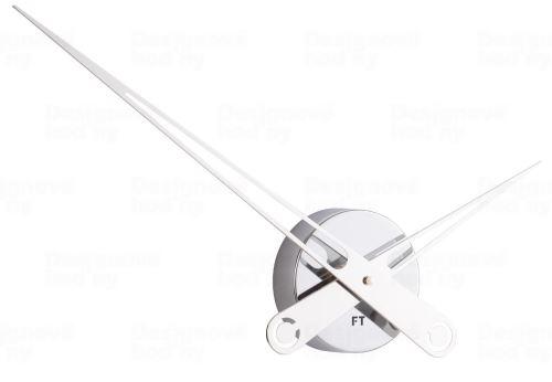 Designové nástěnné hodiny Future Time FT9650CH Hands chrome 60cm