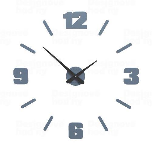 Designové hodiny 10-305 CalleaDesign Michelangelo M 64cm (více barevných verzí) Barva grafitová (tmavě šedá) - 3