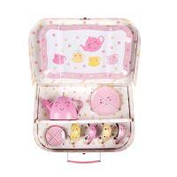Pikniková čajová sada v kufříku Sass & Belle kolekce KAWAII FRIENDS