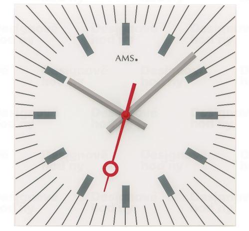 Designové nástěnné hodiny 9576 AMS 35cm
