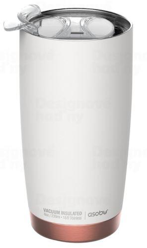 ASOBU luxusní termohrnek The Gladiator white&copper 600ml