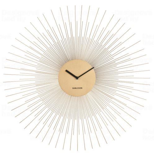 Designové nástěnné hodiny 5818GD Karlsson 60cm