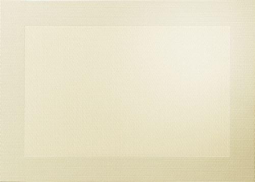 Prostírání, PVC, 33x46cm - písková metalická