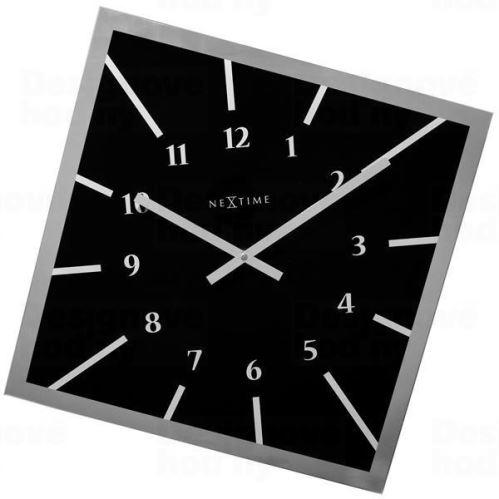 Designové nástěnné hodiny 8176zw Nextime Off Balance 61cm