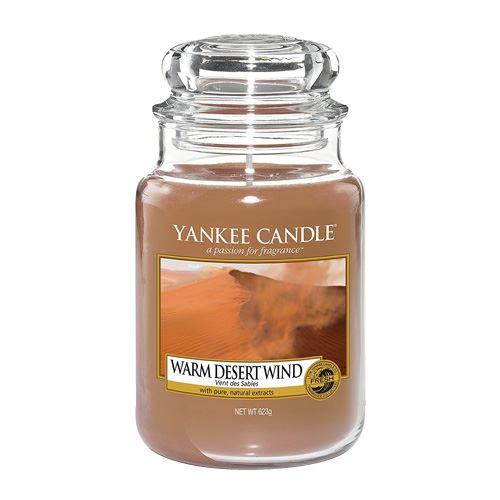 Svíčka ve skleněné dóze Yankee Candle Teplý pouštní vítr, 623 g