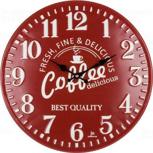 Designové nástěnné hodiny 21508 Lowell 40cm
