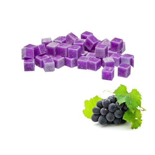 Vonnný vosk do aromalamp - grape (hroznové víno), 8ks vonných kostiček