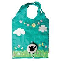 Skládací taška SHEEP FOLDABLE  Sass & Belle, polyester - modrá/tyrkysová