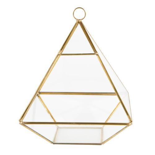 Pyramidové eárium měď a sklo, Sass & Belle