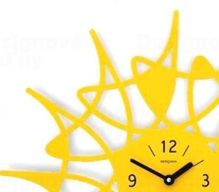 Designové hodiny D&D 305 Meridiana 51cm Meridiana barvy kov stříbrný lak