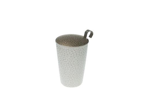 Termohrnek s čajovým sítkem EIGENART TEAEVE Stones Dark, 350ml