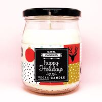 O.W.N. CANDLES vonná svíčka ve skle - Happy holidays
