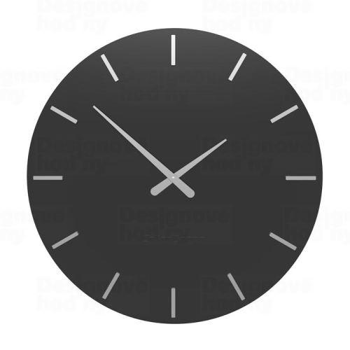 Designové hodiny 10-203 CalleaDesign 60cm (více barev) Barva antracitová černá - 4