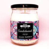 O.W.N. CANDLES vonná svíčka ve skle - Sandalwood