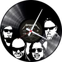 Nástěnné vinylové hodiny Metallica