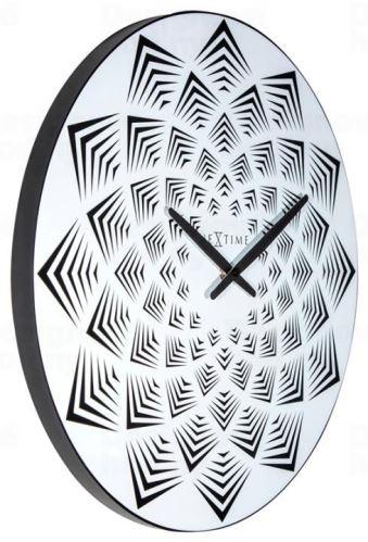 Designové nástěnné hodiny 3130 Nextime Bloom 39cm