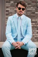 Oblek OppoSuits COOL BLUE, velikost 52